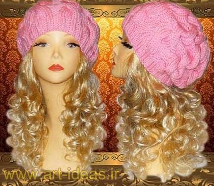 مدل کلاه بافتنی زنانه2