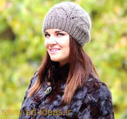 جدیدترین مدل های شال و کلاه بافتنی زنانه و دخترانه