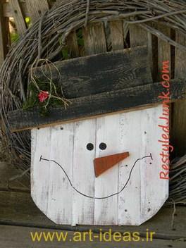 خلاقیت با پالت در فضای باغچه