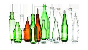 خلاقیت با بطری شیشه ایی