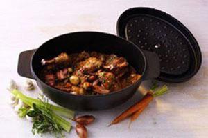 تزیین غذا در حین پخت