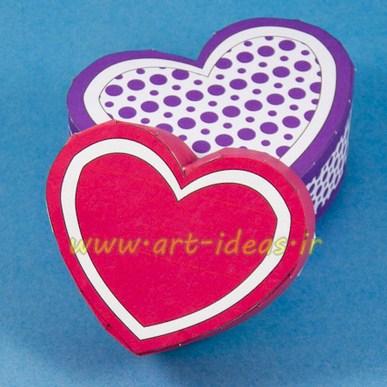 آموزش ساخت جعبه قلب