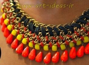 ساخت گردنبند زنجیری