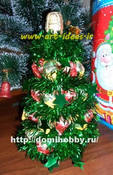 آموزش ساخت درخت کریسمس با بطری
