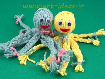 آموزش ساخت عروسک هشت پا با کاموا