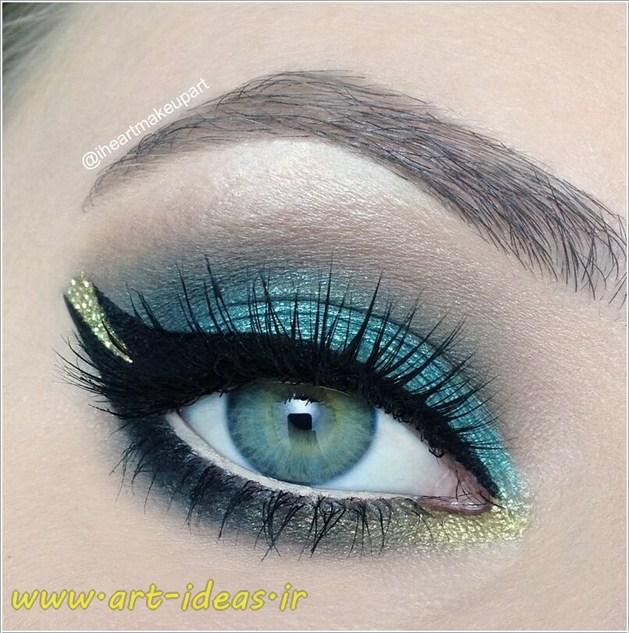 شیک ترین مدل آرایش چشم و ابرو
