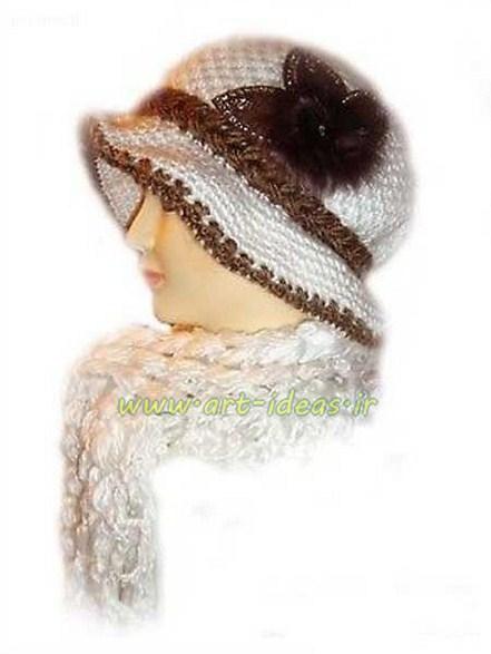 مدل شال و کلاه جدید زنانه