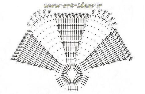 نقشه بافت رومیزی ستاره 6 پر