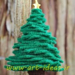 آموزش درخت کریسمس نمدی