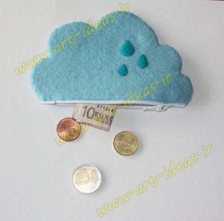 دوخت کیف پول توجیبی برای بچه ها