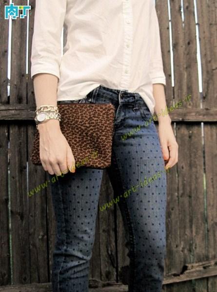 مدل نقاشی شلوار جین