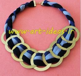 ساخت گردنبند با حلقه