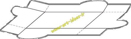 آموزش ساخت جعبه کادو منحنی شکل