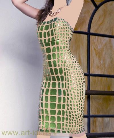 مدل لباس مجلسی کوتاه شیک و جدید