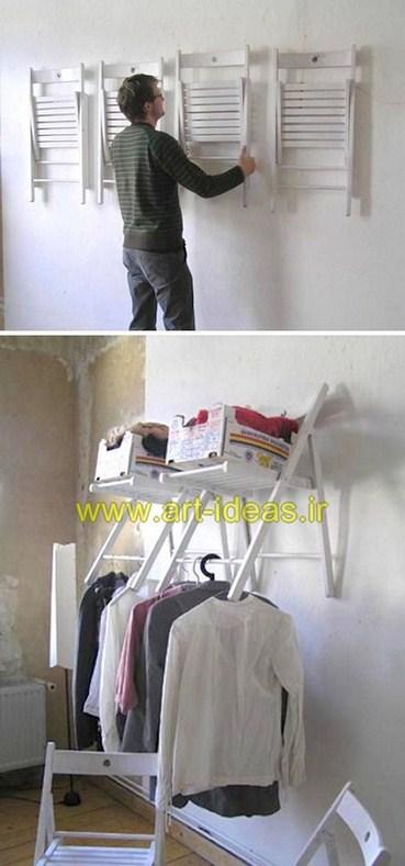 استفاده مجدد از صندلی قدیمی