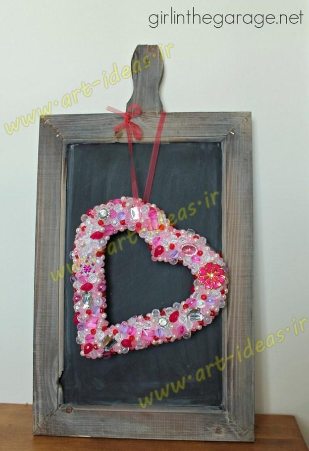 ایده های خلاقانه برای تزیینات روز ولنتاین