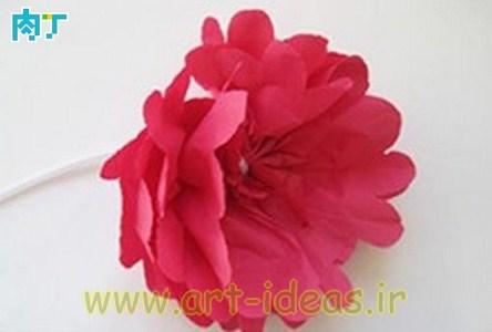 آموزش گل کاغذی