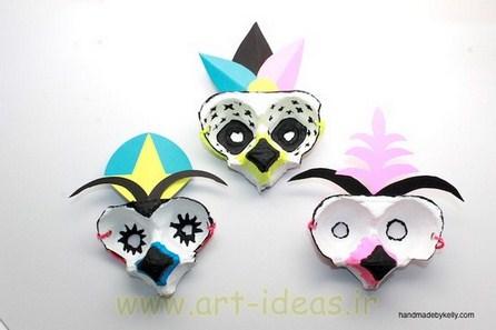 مدل ماسک و صورتک عروسکی برای بازی بچه ها