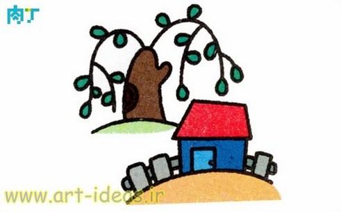 نقاشی برای گونی بافی و شبه قالی و گلدوزی و تکه دوزی و انواع هنرهای دستی