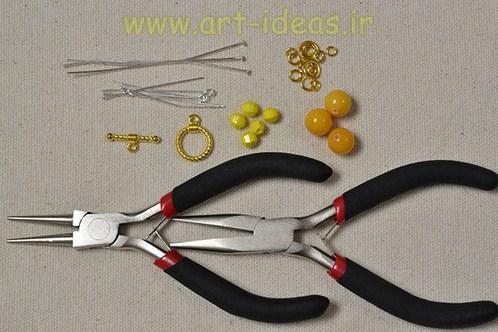 آموزش ساخت انواع دستبند فانتزی با ساده ترین وسایل