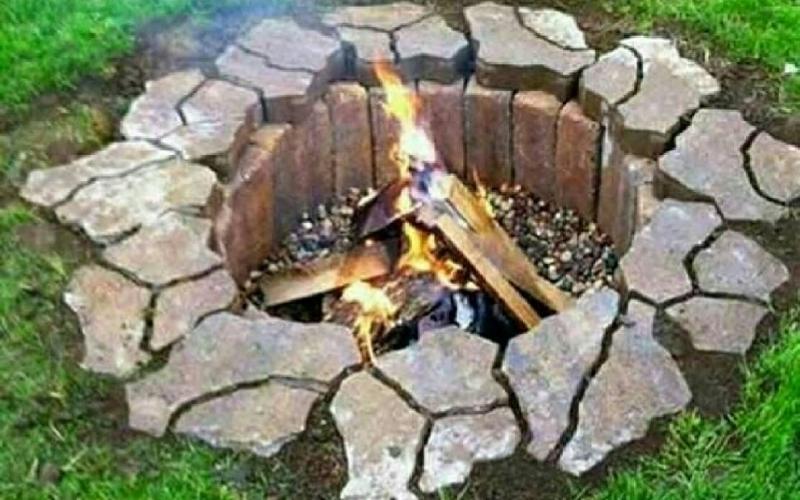 آموزش ساخت آتشدان برای فضای بیرون منزل