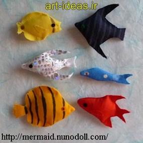 آموزش دوخت ماهی