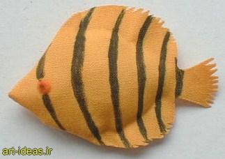 آموزش دوخت ماهی عروسکی