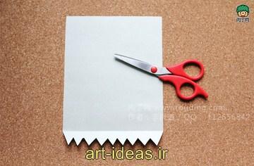 آموزش ساخت کاردستی کاغذی