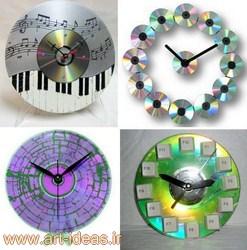 ساخت ساعت با سی دی