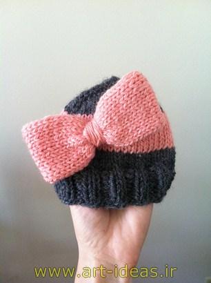 مدل کلاه بافتنی زمستانی