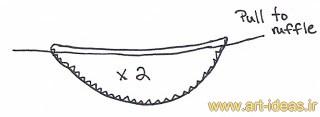 آموزش دوخت تاپ ساده زنانه