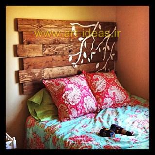 خلاقیت با پالت های چوبی در دکوراسیون منزل