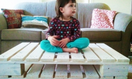 خلاقیت با پالت چوبی در خانه